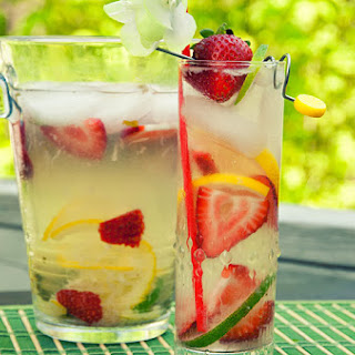 Coconut Strawberry Lemonade
