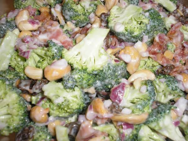 Broccoli Crunch Salad With A Parmesan Twist Recipe