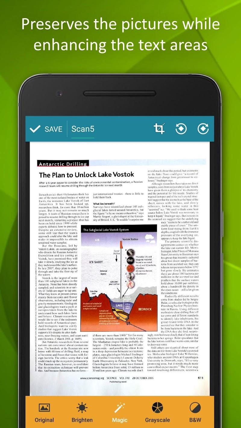 Smart Doc Scanner: Free PDF Scanner App Screenshot 5