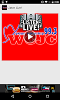 Screenshot of 99.3 WCJC
