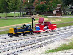 Photo: Rick White's equipment in the yard on an overcast Saturday.      HALS / SWLS 2013-1109  RPW