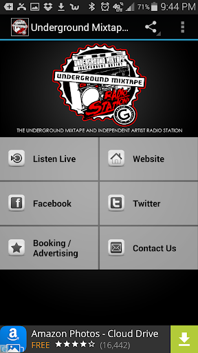 Underground Mixtape Radio  screenshots 1