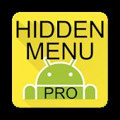 AOSP / CM Hidden Menu Pro