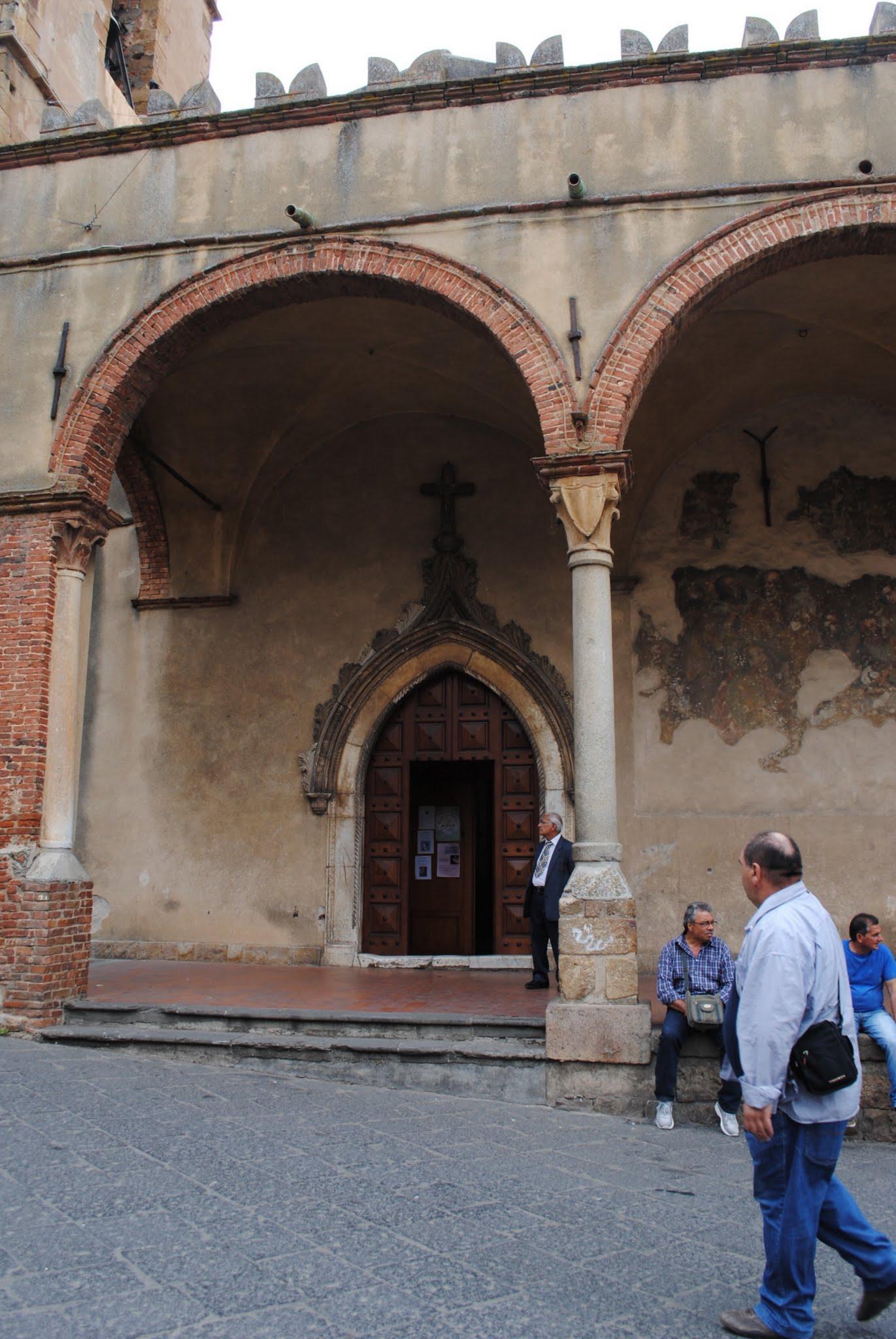 My Photos: Italy -- Mosaics -- Sicily -- Cefalù -- Castelbuono -- Chiesa di Matrice Vecchia