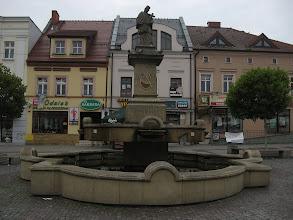 Photo: Kamienna rzeźba św. Jana Nepomucena początkowo, od 1736 roku, stała przed zamkiem w Jastrzębiu. Nazwisko osoby spod dłuta której wyszła jest nieznane. Wiadomo natomiast, że ze została podarowana miastu przez hrabiego Strachwitz w 1823r. http://www.nowiny.rybnik.pl/artykul,28196,jan-nepomucen-nie-jan-sarkander.html