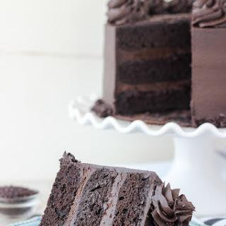 Decedant Chocolate Stout Cake
