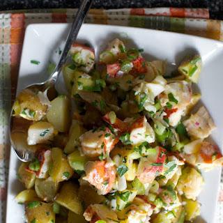 Lobster and Potato Salad.