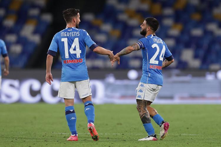 Napoli heeft voorlopig Dries Mertens niet nodig om te winnen