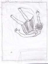 """Photo: pencil drawing for falling prints 8.5 x 11"""""""