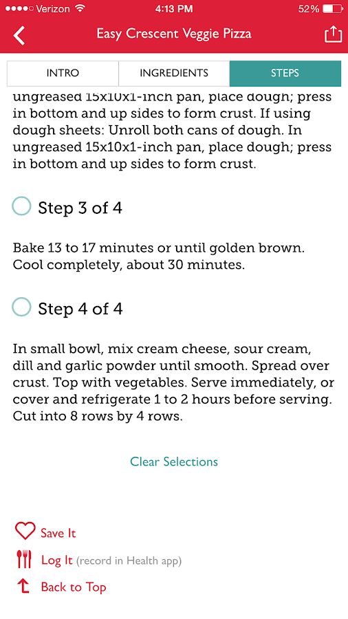 The Betty Crocker® Cookbook- screenshot