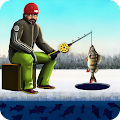 Real Fishing Winter Simulator 1.5 icon