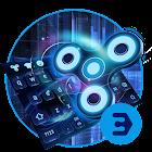 霓虹燈指尖陀螺旋轉3D酷鍵盤 icon