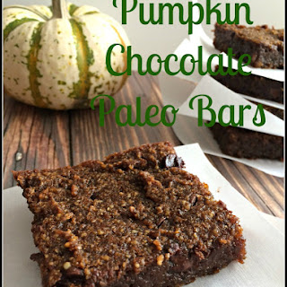 Pumpkin Chocolate Paleo Bars