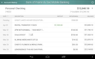 Screenshot of Bank of Prairie du Sac
