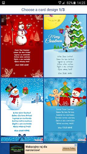 Make Christmas card + Wishes
