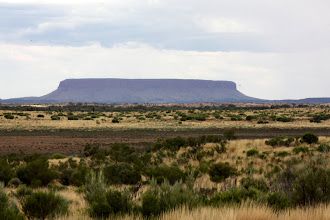 Photo: Year 2 Day 218 -  Mount Conner (We Thought this Was Uluru at First)
