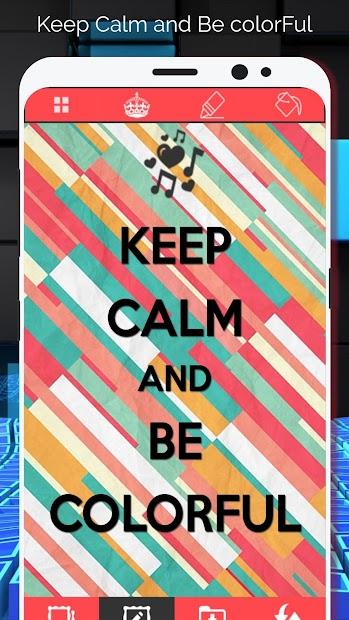 Keep Calm Wallpaper Creator