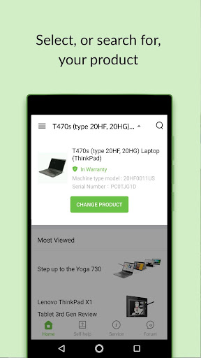 Lenovo Help 6.2.9.1220 screenshots 2