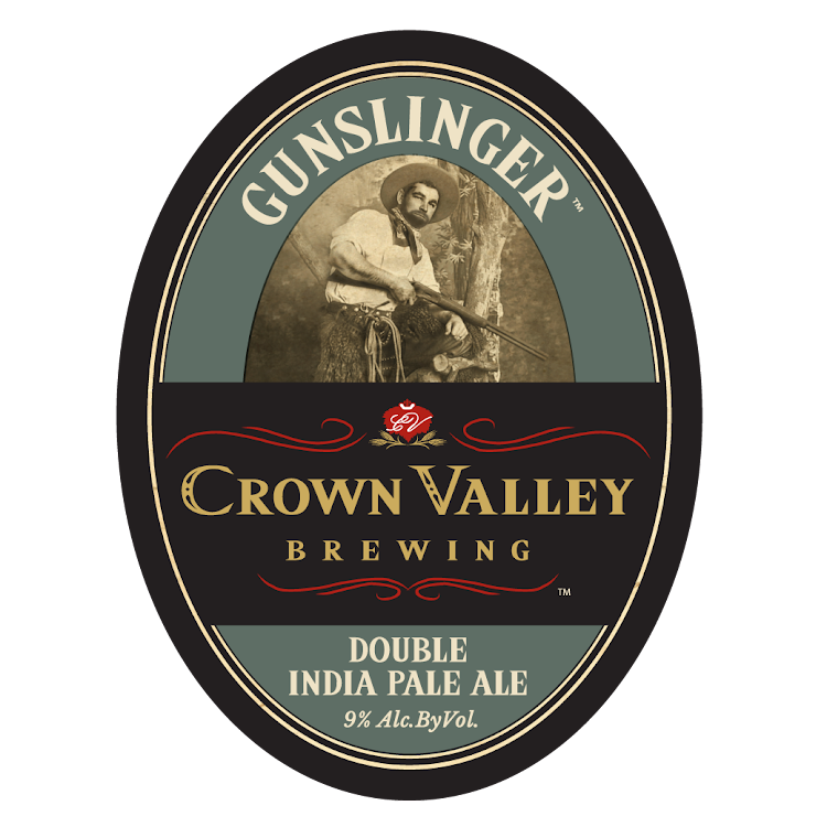Logo of Crown Valley Gunslinger Double IPA