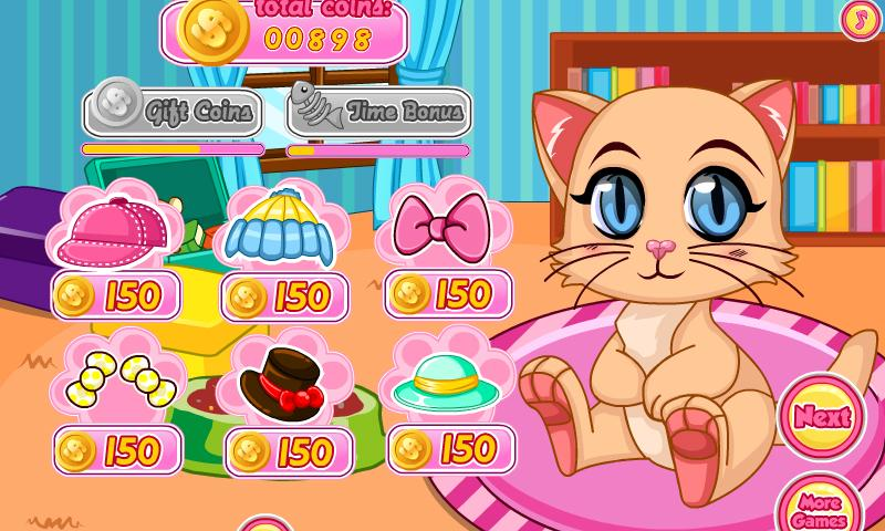 Baby Kitten Shopping- screenshot