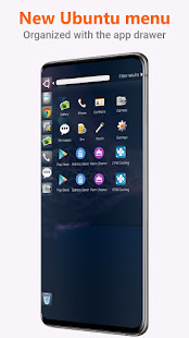 Ubuntu Style Launcher