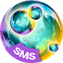 SMS Plus Color Bubbles icon