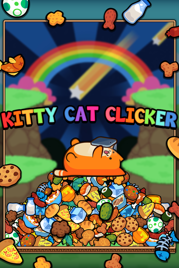 Kitty Cat Clicker - Hungry Cat Feeding Game- screenshot
