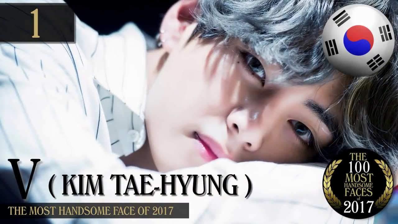 BTS V the Most Handsome of World 2017