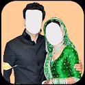 Islamic Beautiful Couples Frames icon