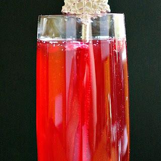 Bergamot Ruby French 75 Recipe