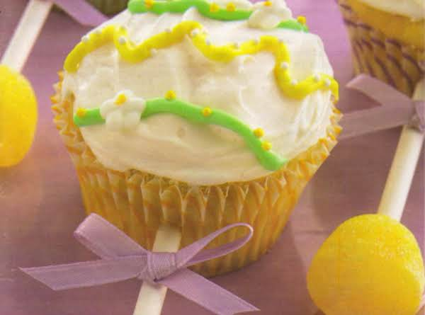 Baby Rattle Pear Cupcakes