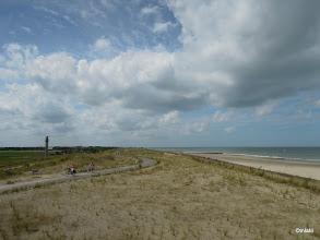Photo: u Cadzand, Holandsko. Takhle nějak vypadá holanský pobřeží.