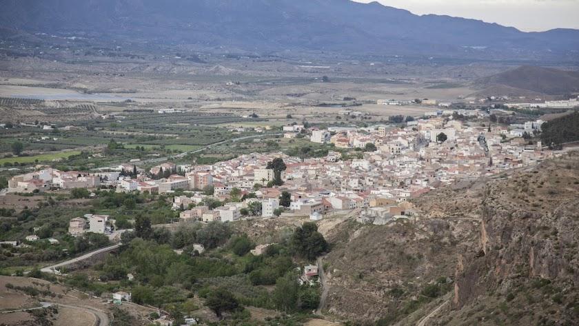 Tíjola es el pueblo con mayor población -3.548 habitantes- con tasa 0.