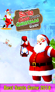 Santa Clause Puzzle Christmas Game 2k18 - náhled