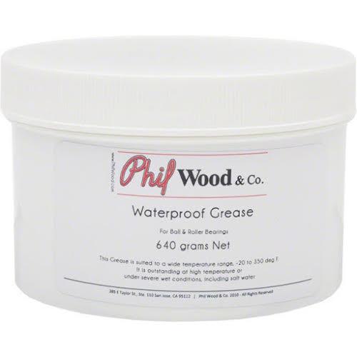Phil Wood Waterproof Grease Tub: 16oz