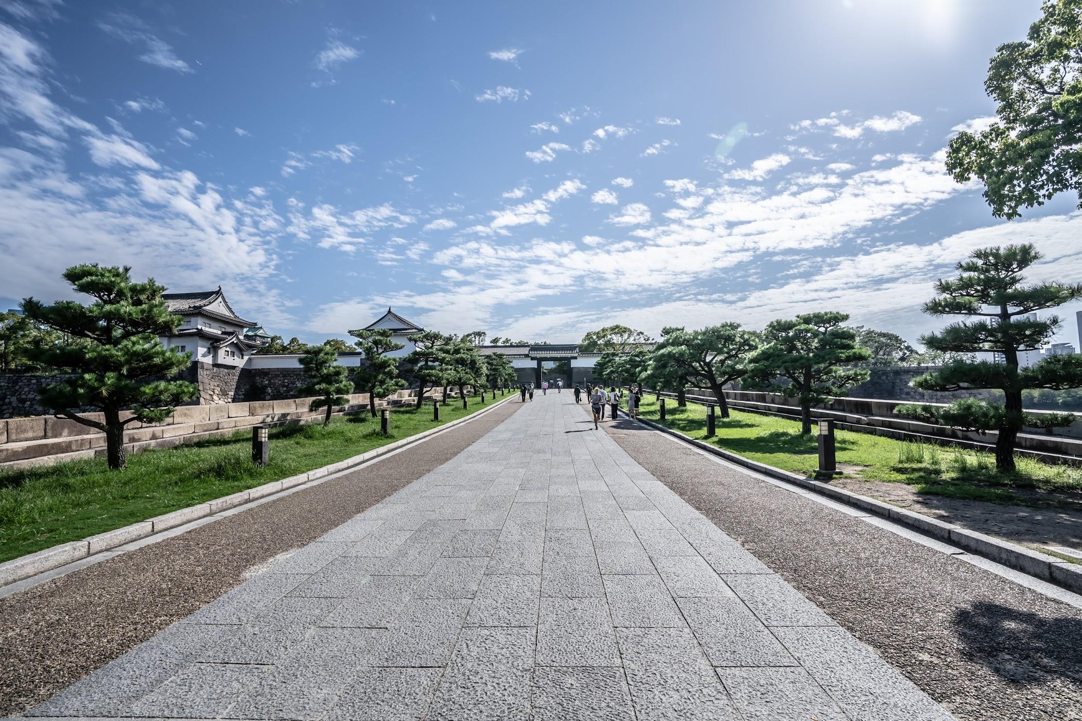 Osaka Castle Park gateway