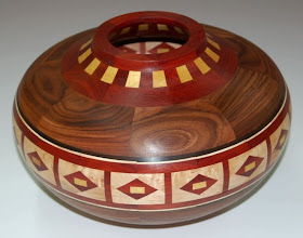"Photo: Stan Sherman - segmented vessel - 10.5"" x 7"" - 