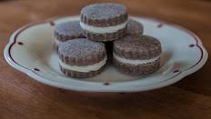 Gluten-Free Cocoa Sugar Cookie Sandwiches