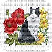 Cross Stitch Flowers Design