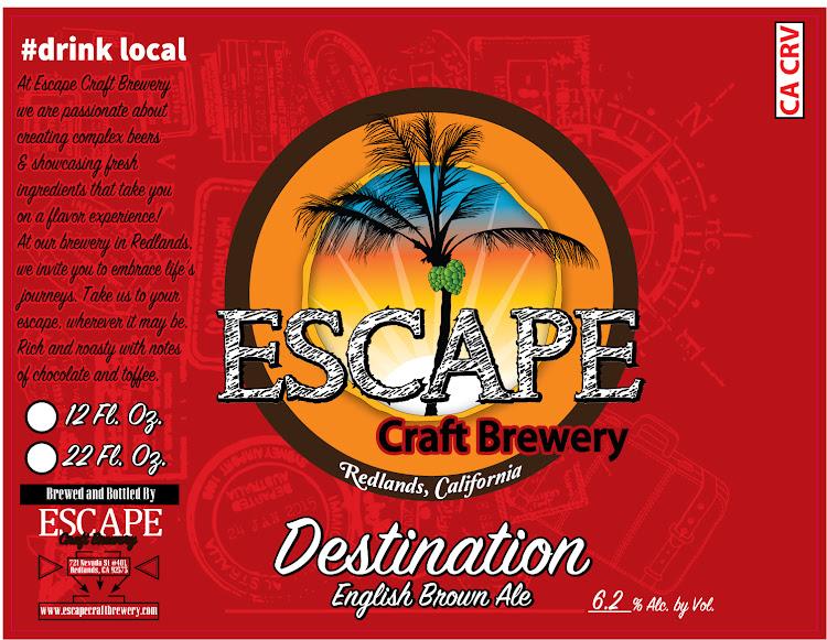 Logo of Escape Destination Brown
