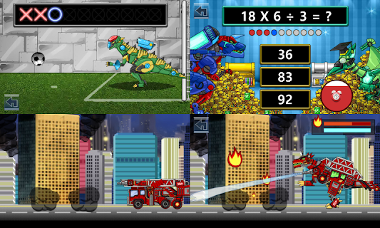 Dino Robot Battle Field screenshot 04