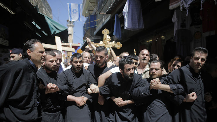 Palestinian Christians face restrictions when celebrating Easter in Jerusalem