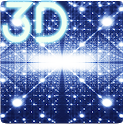 Parallax Infinite Particles 3D Live Wallpaper icon