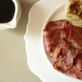 Country Ham and Red Eye Gravy