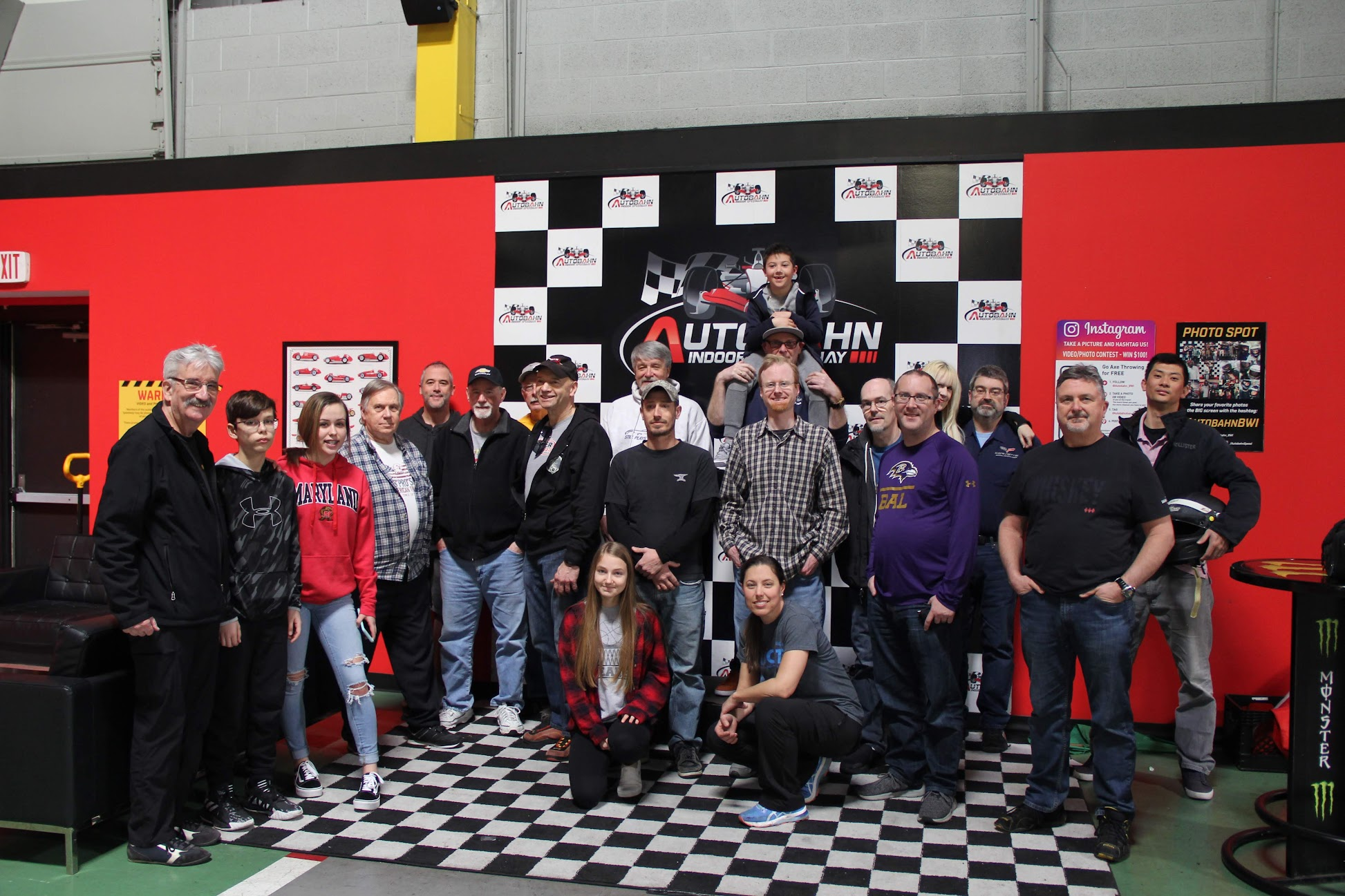 11th Annual Winter Karting Event