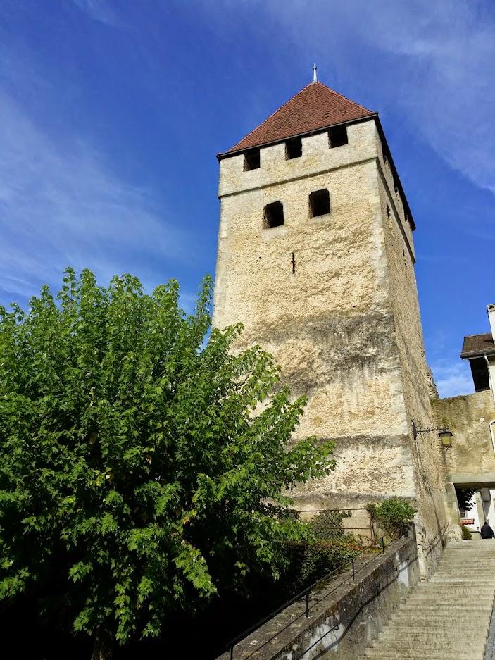 Tour de Bennewyl à Avenches