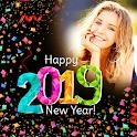 Happy New Year Photo Frame 2019 photo editor icon