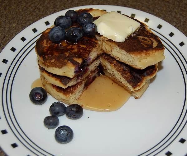 Sour Cream Blueberry Pancakes Recipe