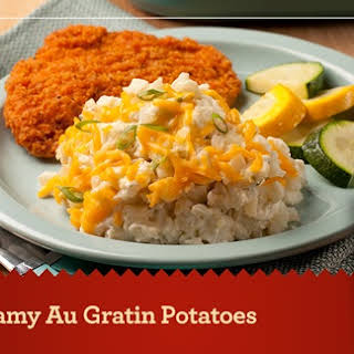 Creamy Au Gratin Potatoes.