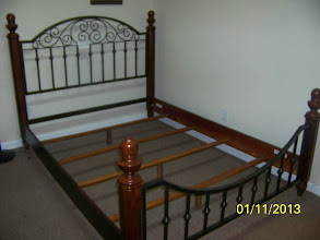 Photo: Queen Bed $150